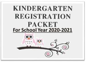 K registration Packet 20/21