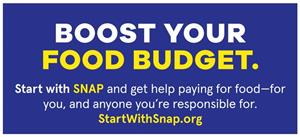 SNAP - Boost Your Food Budget