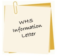 WHS Info Letter